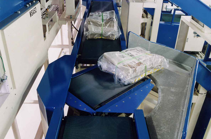 Speedy Sorting of Newspaper Center Printed Products – Wing Sorter