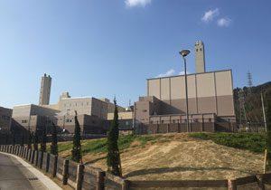 Komaki Iwakura Sanitation Union Environment Center garbage treatment facilities
